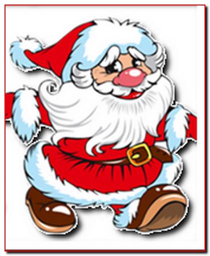 Дед Мороз, новогодняя сказка за столом