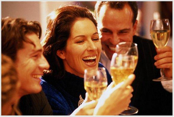 знакомство с гостями на новый год